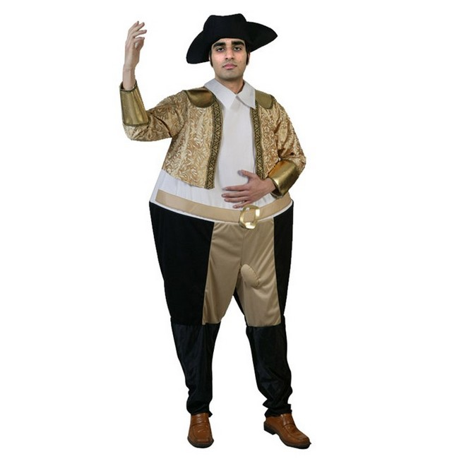 disfraz torero gordo 2 - torero gordo