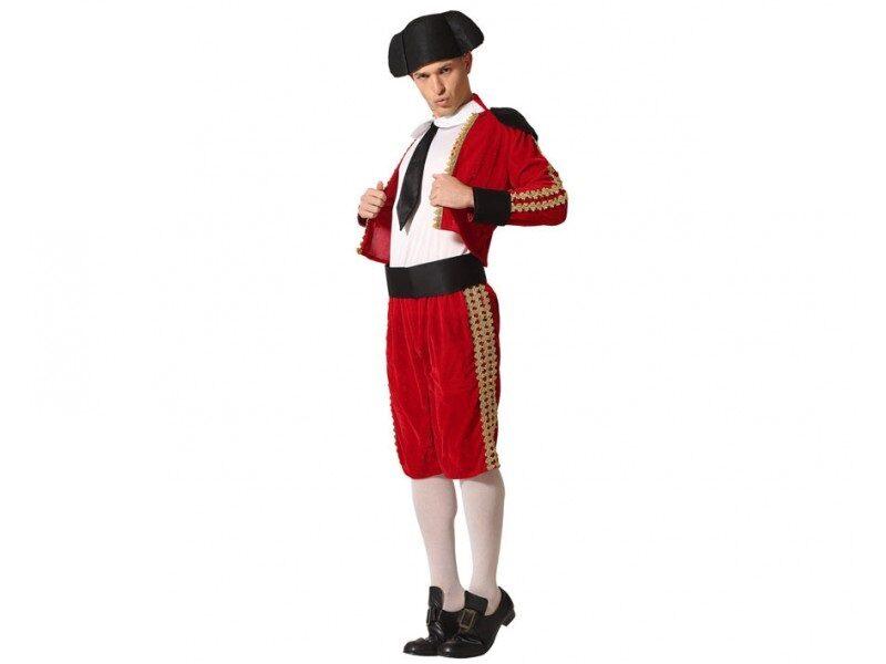 disfraz torero rojo hombre 800x600 - DISFRACES HOMBRE