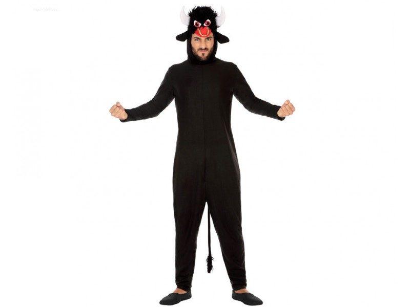 disfraz toro negro adulto 800x600 - DISFRAZ DE TORO NEGRO ADULTO