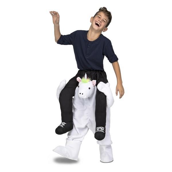 disfraz unicornio a hombros infantil - DISFRAZ DE UNICORNIO A HOMBROS UNISEX
