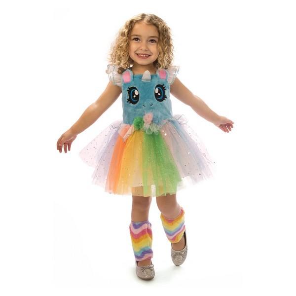 disfraz unicornio azul ojitos niña - DISFRAZ DE UNICORNIO AZUL OJITOS NIÑA