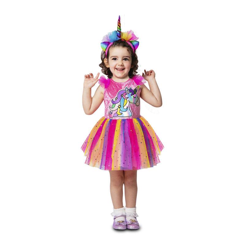 disfraz unicornio bebé niña 800x800 - DISFRAZ DE UNICORNIO BEBÉ NIÑA