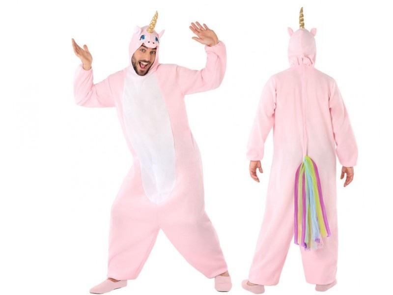 disfraz unicornio rosa adulto - DISFRAZ DE UNICORNIO ADULTO