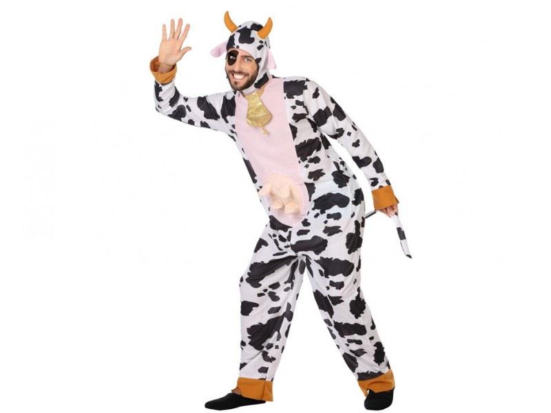 disfraz vaca adulto 2 - DISFRAZ DE VACA ADULTO