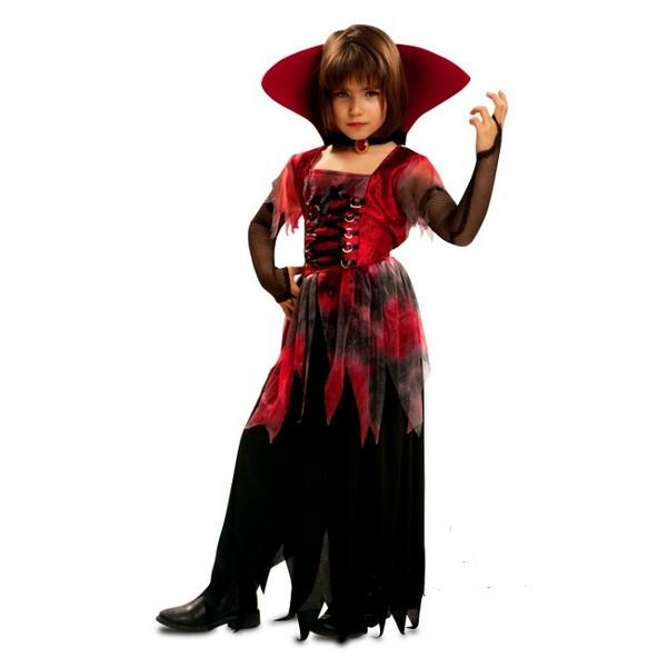 disfraz vampiresa gotica infantil - DISFRAZ DE VAMPIRESA GÓTICA INFANTIL