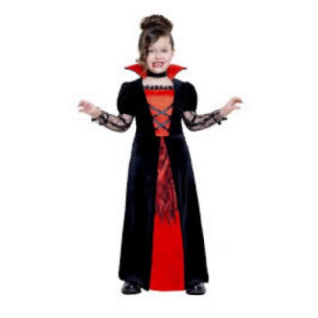 disfraz vampiresa niña 1 - DISFRAZ DE VAMPIRESA NIÑA