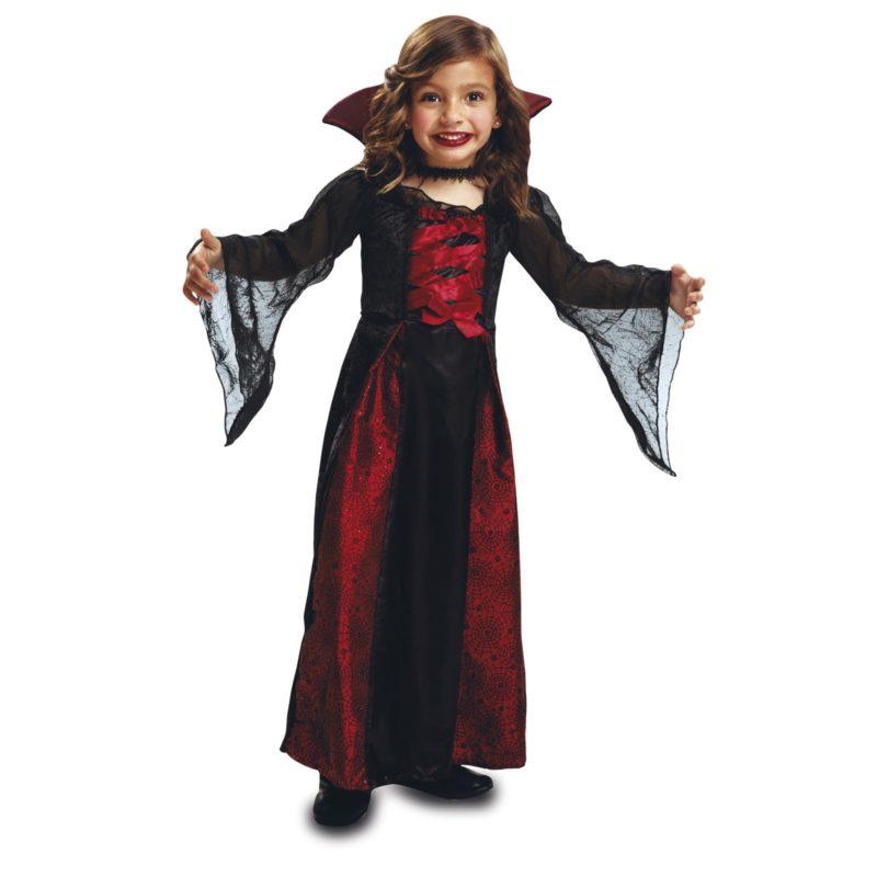 disfraz vampiresa reina niña 1 800x800 - DISFRAZ DE VAMPIRESA REINA PEQUE
