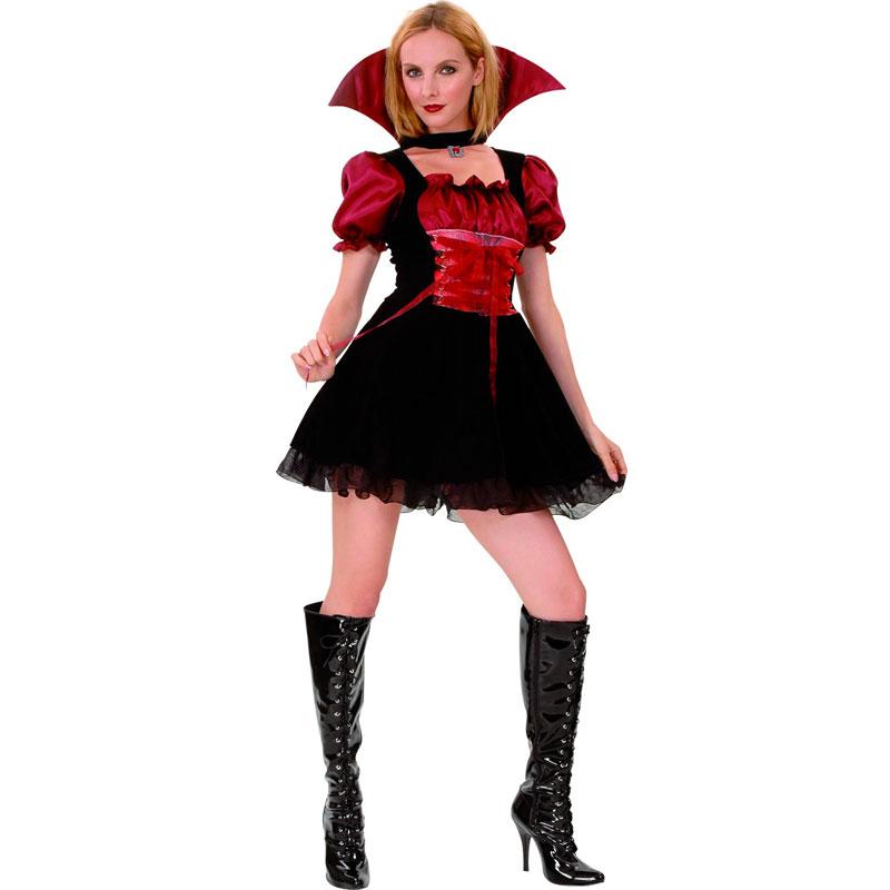 disfraz vampiresa sexy mujer - DISFRAZ DE VAMPIRESA SEXY MUJER
