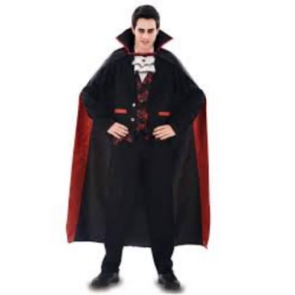 disfraz vampiro elegante adulto 1 - DISFRAZ DE VAMPIRO ELEGANTE ADULTO