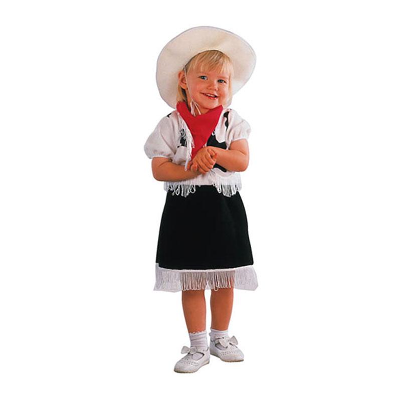 disfraz vaquerita infantil - DISFRAZ VAQUERA NIÑA