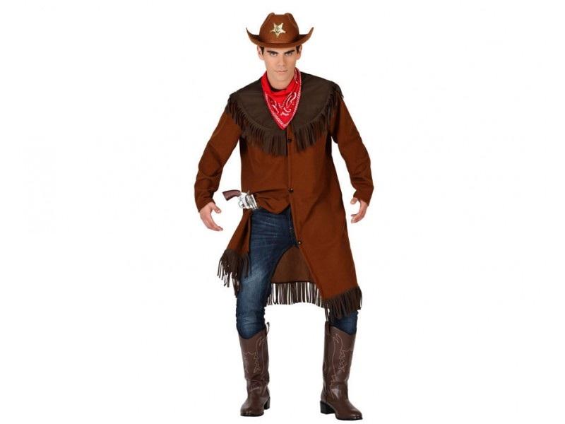 disfraz vaquero abrigo hombre - DISFRAZ DE VAQUERO ABRIGO HOMBRE