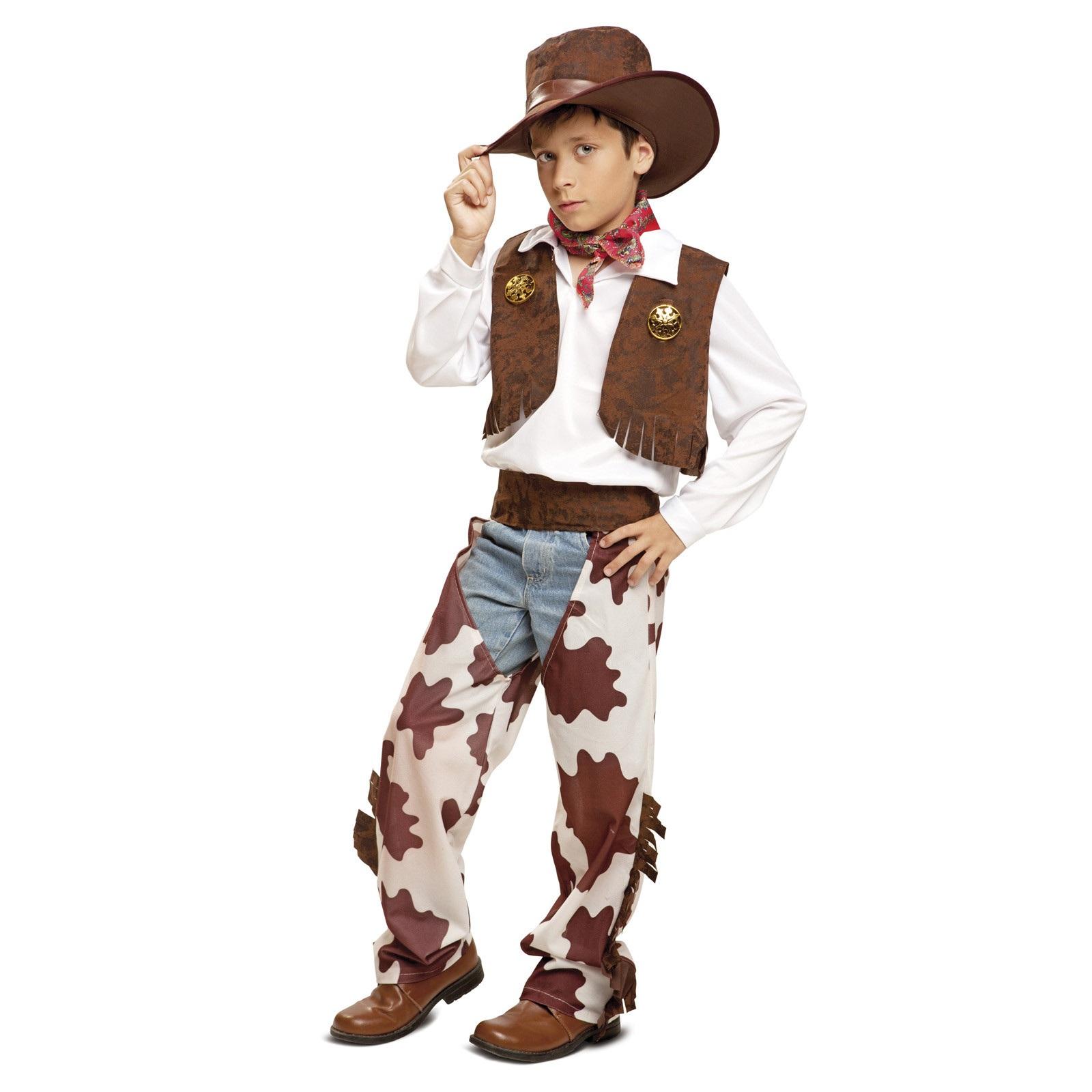 disfraz vaquero blanco y marrón niño 200834mom - DISFRAZ DE VAQUERO BLANCO Y MARRON NIÑO