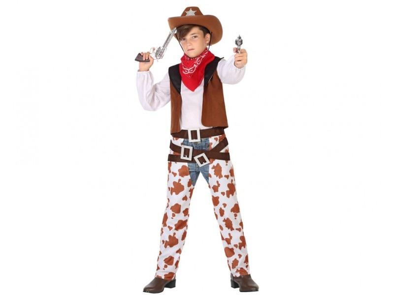 disfraz vaquero niño 1 - DISFRAZ DE VAQUERO PERNERAS NIÑO