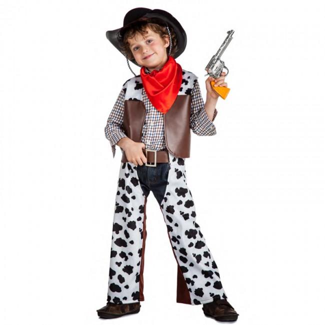 disfraz vaquero salvaje oeste para bebé K1306 - DISFRAZ VAQUERO SALVAJE BEBE