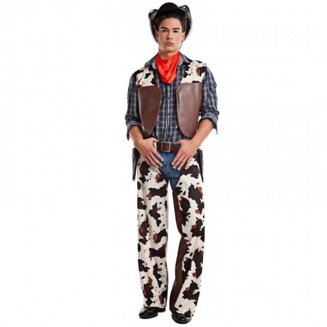 disfraz vaquero salvaje oeste para hombre - DISFRAZ VAQUERO OESTE HOMBRE