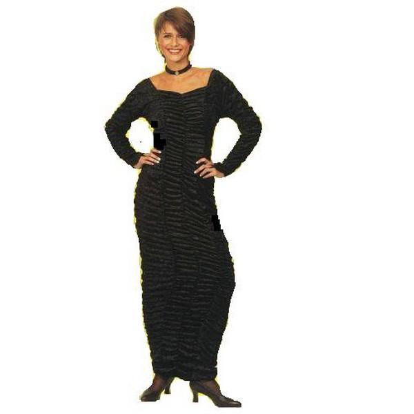 disfraz velvet negro - DISFRAZ CUERPO VELVET NEGRO ADULTO