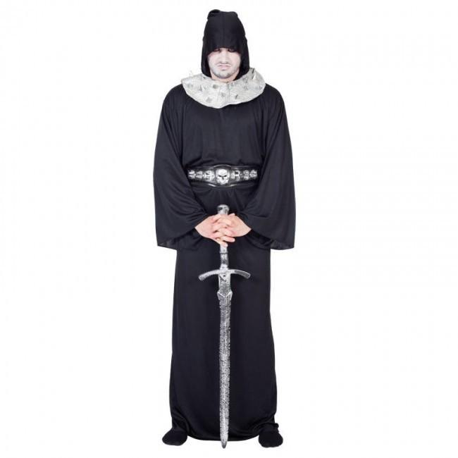 disfraz verdugo negro hombre - DISFRAZ DE VERDUGO NEGRO HOMBRE