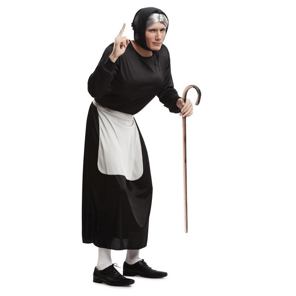 disfraz vieja para hombre - DISFRAZ DE VIEJA PARA HOMBRE