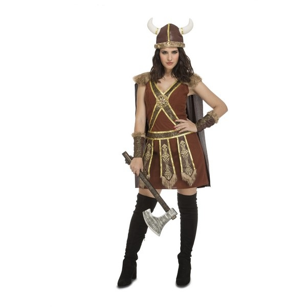 disfraz vikinga guerrera 204197mom - DISFRAZ DE VIKINGA GUERRERA MUJER