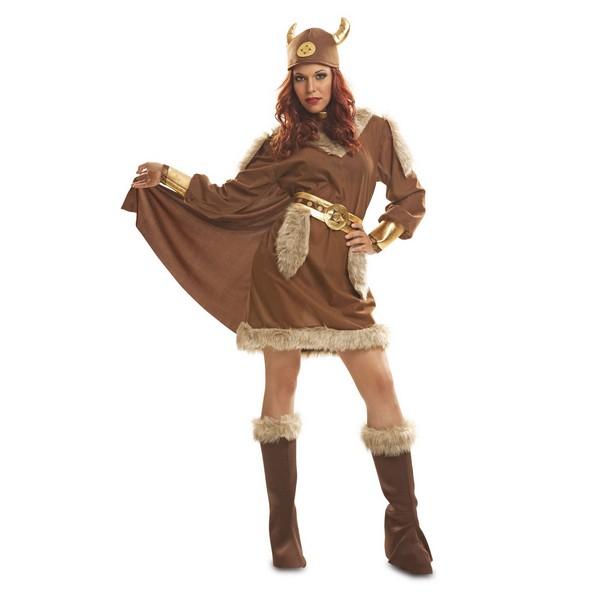 disfraz vikinga mujer 1 - DISFRAZ DE VIKINGA MUJER