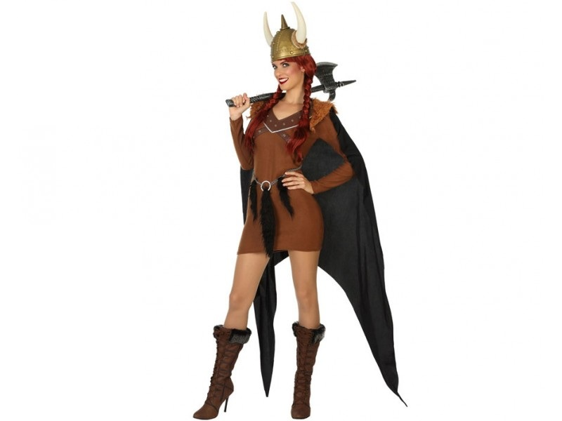 disfraz vikinga mujer 2 - DISFRAZ DE VIKINGA MUJER
