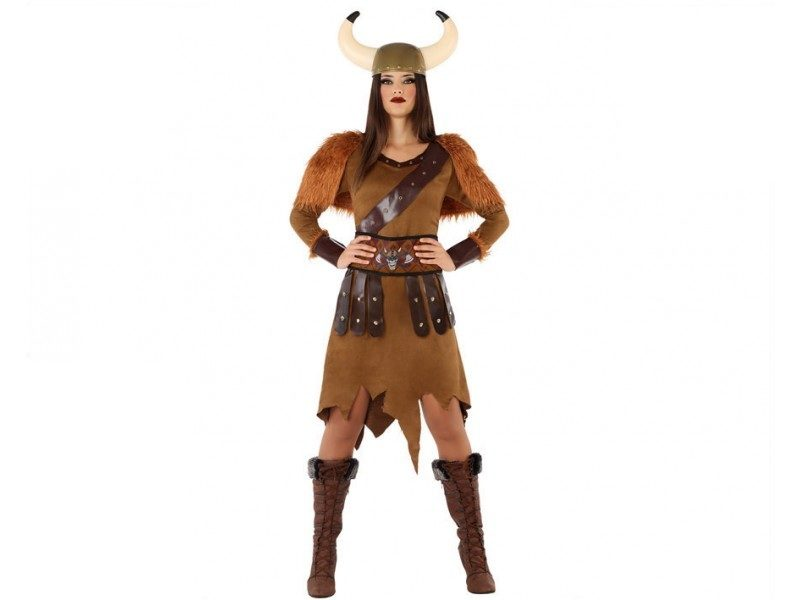 disfraz vikinga mujer 3 800x600 - DISFRAZ DE VIKINGA MUJER