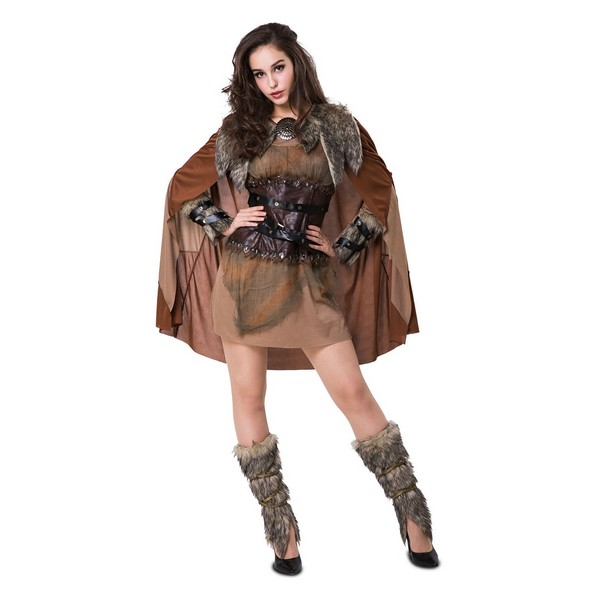disfraz vikinga nórdica mujer - DISFRAZ DE VIKINGA NORDICA MUJER