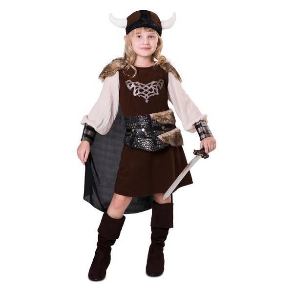 disfraz vikinga niña 1 - DISFRAZ DE VIKINGA LADY NIÑA