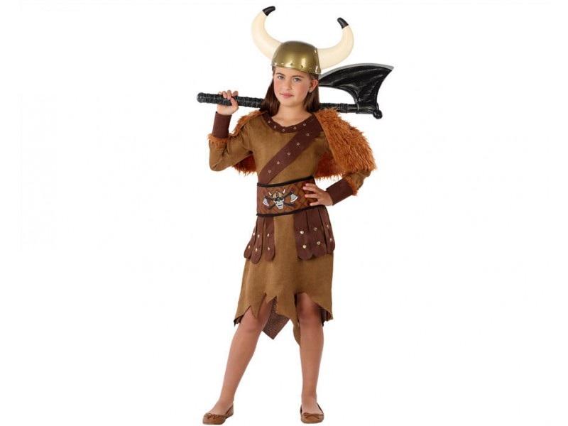 disfraz vikinga niña 2 - DISFRAZ DE VIKINGA NIÑA