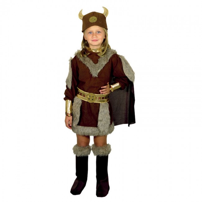 disfraz vikinga niña - DISFRAZ DE VIKINGA NIÑA