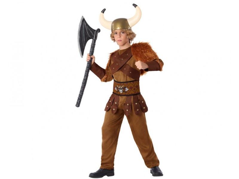 disfraz vikingo niño 1 - DISFRAZ DE VIKINGO NIÑO