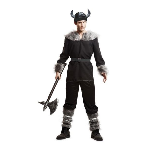 disfraz vikingo salvaje hombre 203340mom - DISFRAZ DE VIKINGO SALVAJE HOMBRE