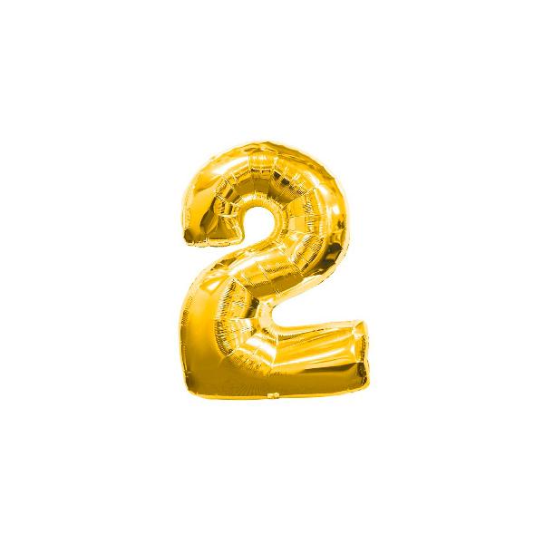 globo forma número 22 - GLOBO NÚMERO 2 PARA HELIO