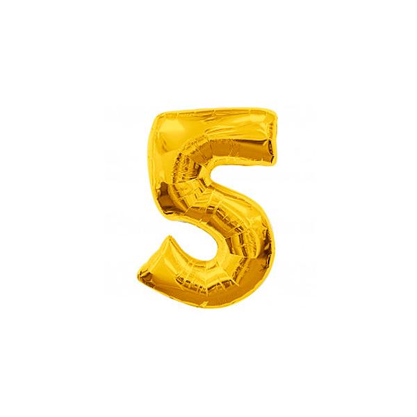 globo forma número 56 - GLOBO NÚMERO 5 PARA HELIO