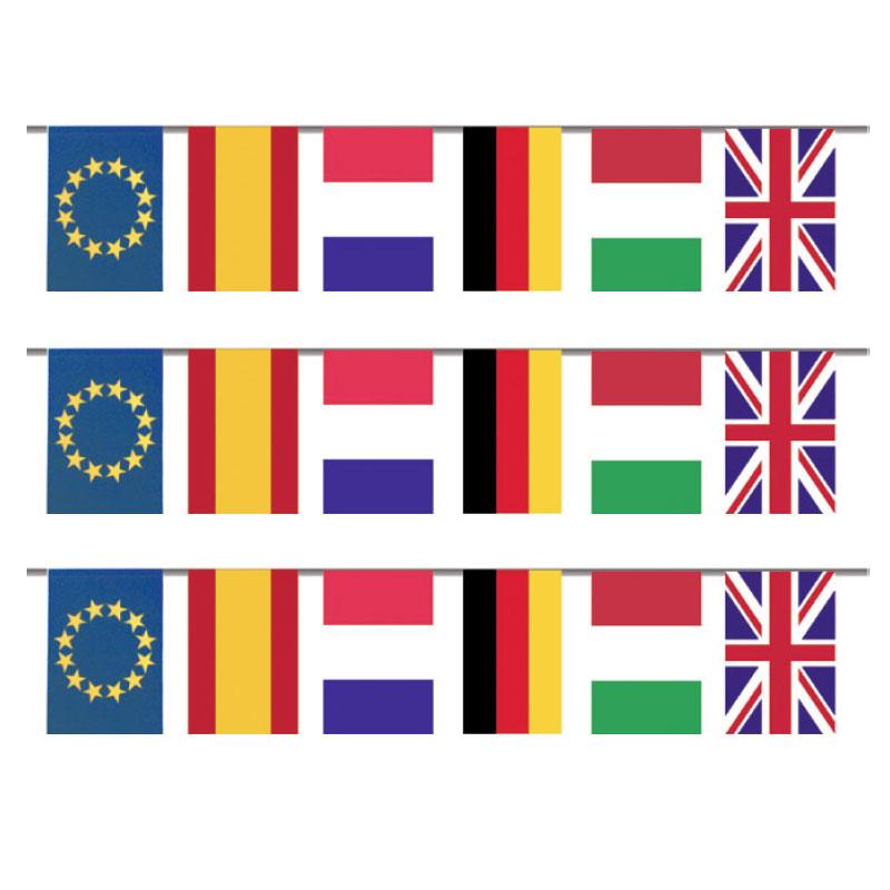 Banderas y flecos