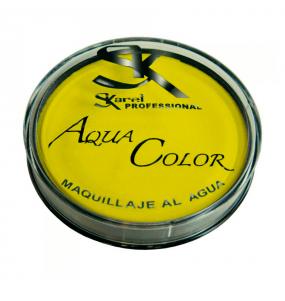 maquillaje al agua amarillo - MAQUILLAJE AMARILLO AL AGUA