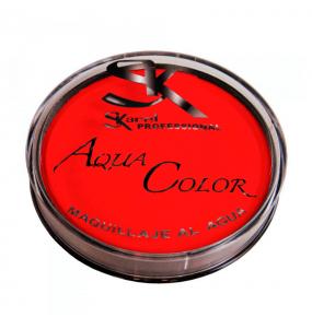 maquillaje al agua rojo - MAQUILLAJE ROJO AL AGUA