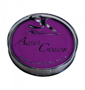 maquillaje al agua violeta - MAQUILLAJE VIOLETA AL AGUA