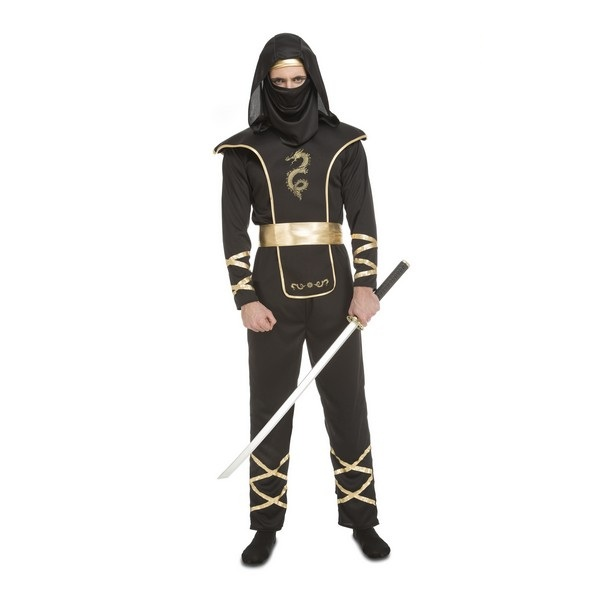 ninja negro hombre 204890mom - DISFRAZ DE NINJA NEGRO HOMBRE
