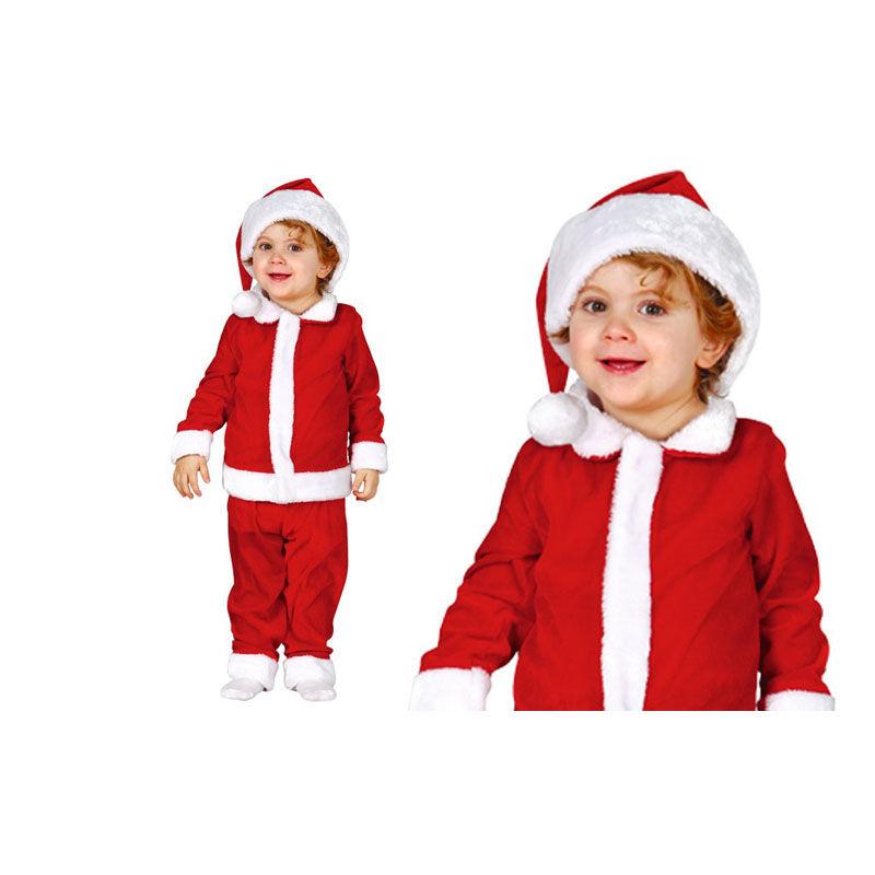 Disfraz de papa noel infantil navidad tienda de - Disfraces infantiles navidad ...