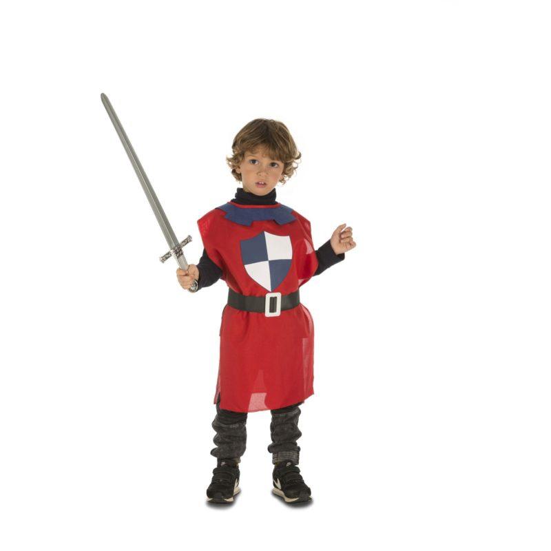 peto medieval infantil 800x800 - PETO MEDIEVAL ROJO INFANTIL