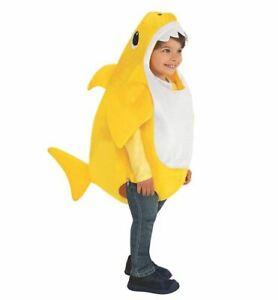 s l300 - DISFRAZ DE BABY SHARK INFANTIL MUSICAL