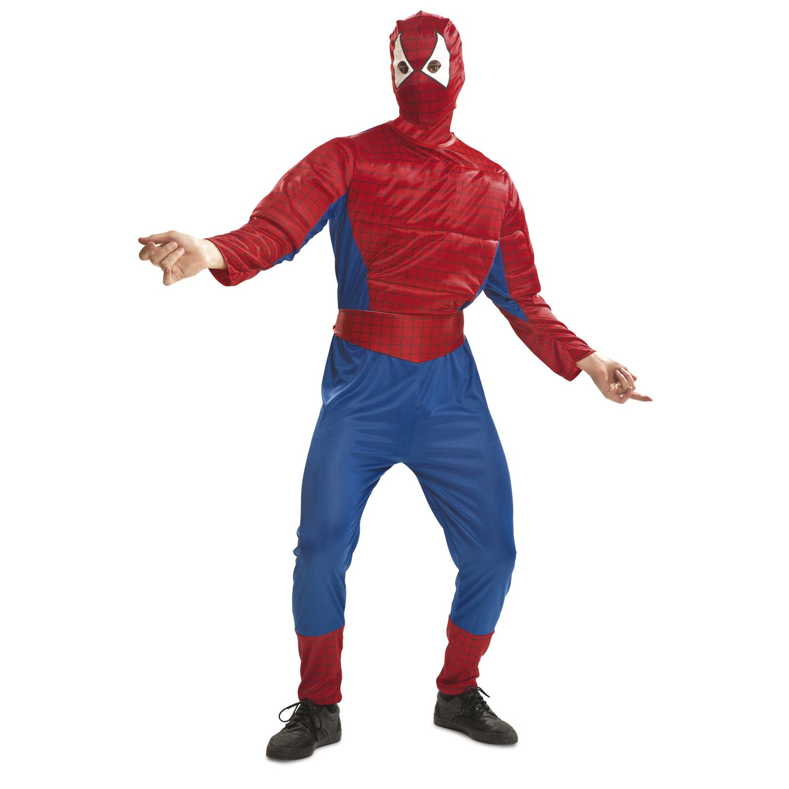 spiderman musculoso hombre - DISFRAZ DE SPIDERMAN MUSCULOSO ADULTO